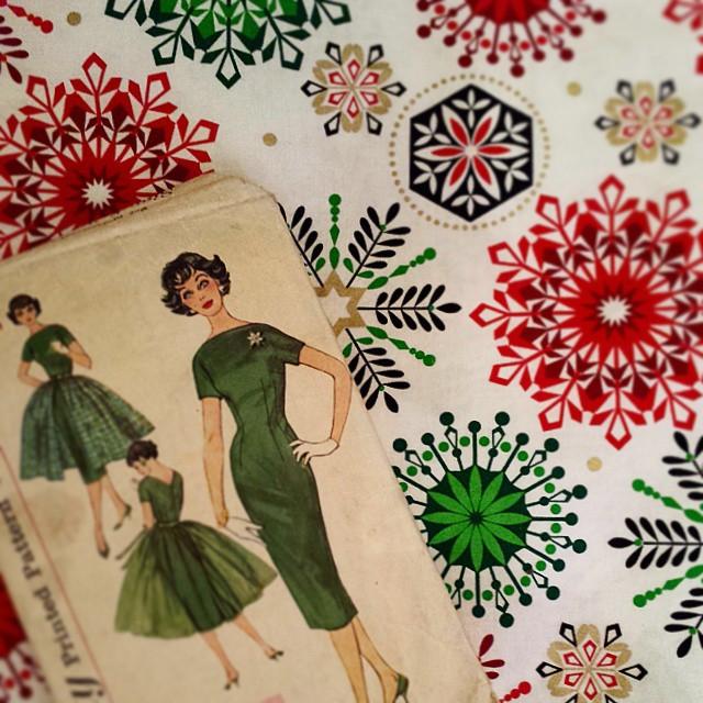 stacey stitch christamas dress
